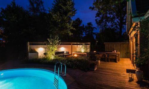 Moderne tuin Ilpendam
